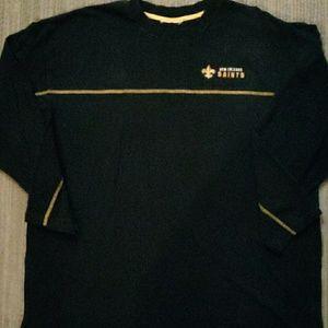 New Orleans Saints long sleeved tee shirt.